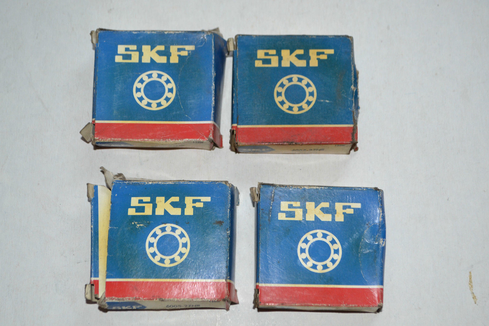 high temperature SKF : 6005-2ZNR/Deep groove ball bearings single row design,with Ringnut/4 Piece
