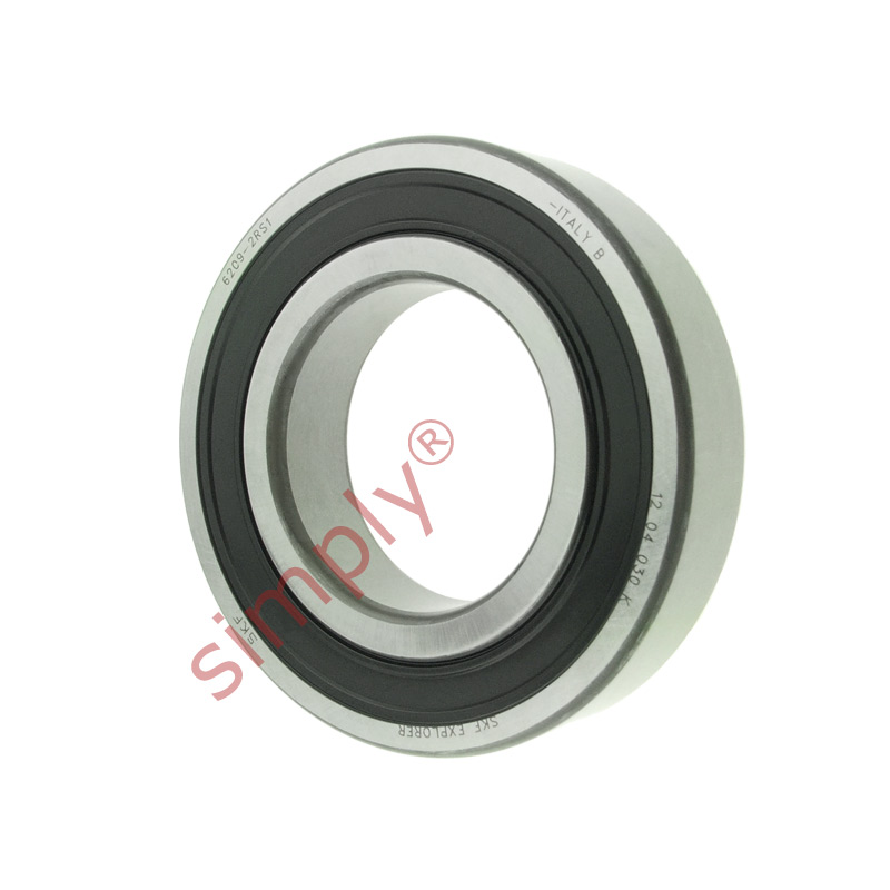 high temperature SKF 62092RS1 Rubber Sealed Deep Groove Ball Bearing 45x85x19mm