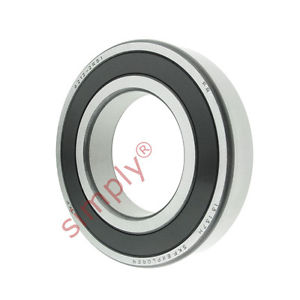 high temperature SKF 62122RS1 Rubber Sealed Deep Groove Ball Bearing 60x110x22mm