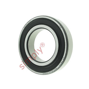 high temperature SKF 62102RS1 Rubber Sealed Deep Groove Ball Bearing 50x90x20mm