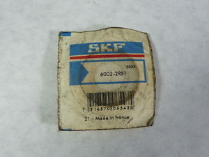 high temperature SKF 6002-2RS1 Single Row Ball Bearing 15mm x 32mm x 9mm !  !