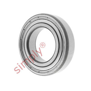 high temperature SKF 60062Z Metal Shielded Deep Groove Ball Bearing 30x55x13mm