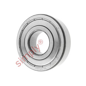 high temperature SKF 63052ZC3 Metal Shielded Deep Groove Ball Bearing 25x62x17mm