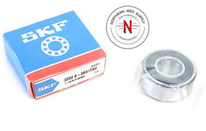 high temperature SKF 2202 E-2RS1TN9 SELF ALIGNING BALL BEARING,  15mm x 35mm x 14mm , FIT C0