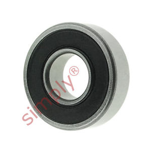 high temperature SKF 619/82RS1 Rubber Sealed Deep Groove Ball Bearing 8x19x6mm