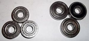 high temperature Ball bearings, SKF 6000 RSZ (3), Nachi, Peer, Asahi 6200 ZZ (3)_____3653/7