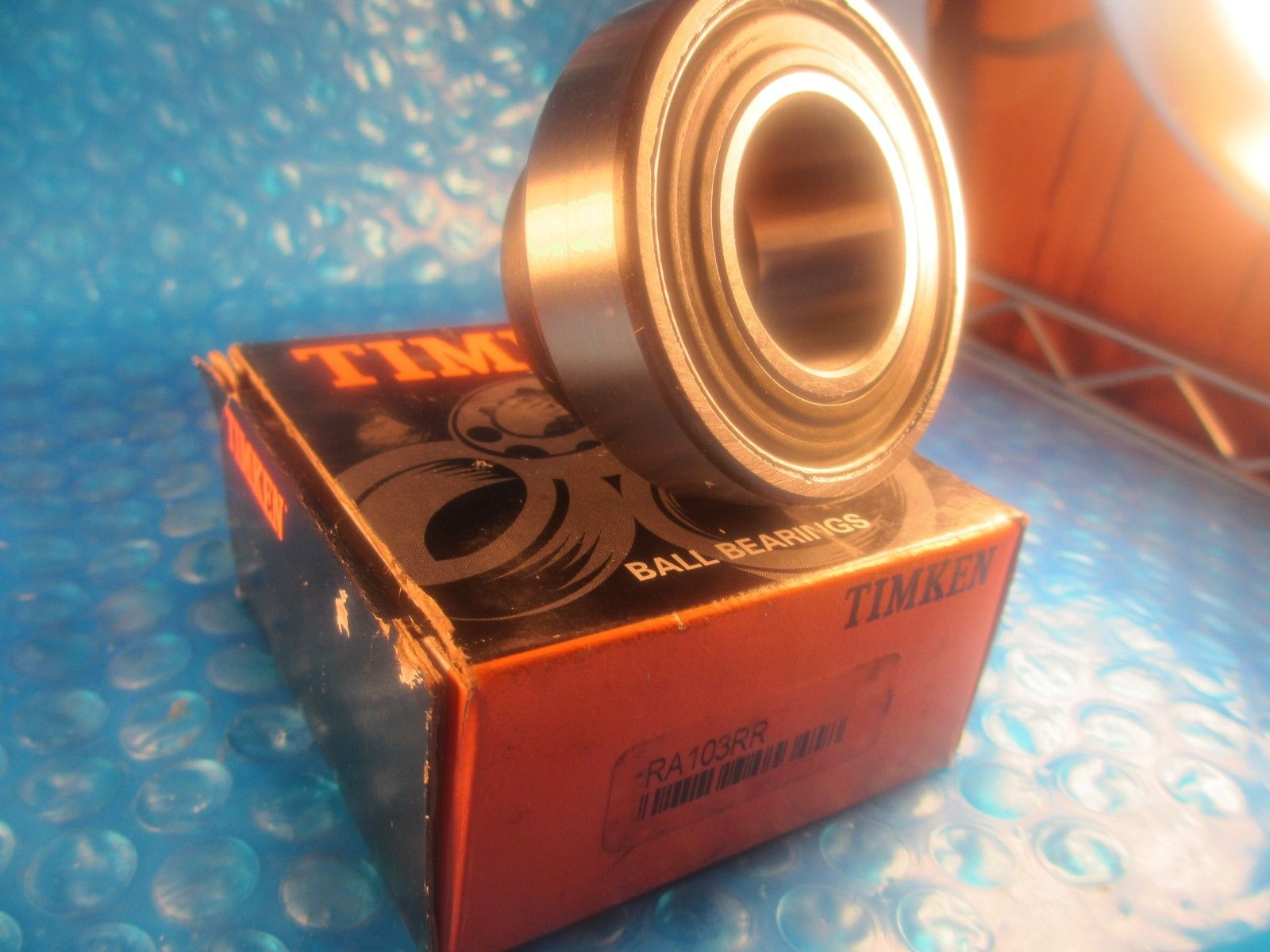 high temperature Timken RA103RR , RA103 RR Wide Inner Ring Ball Bearing