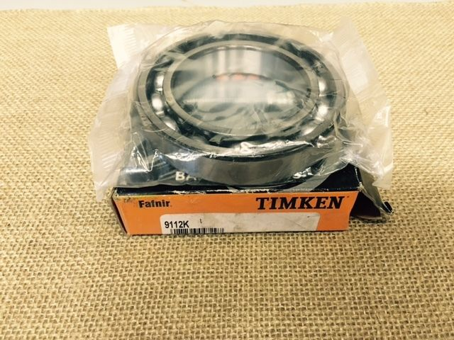 high temperature  – TIMKEN 9112K Radial Ball Bearing, Open, Dia. 60mm