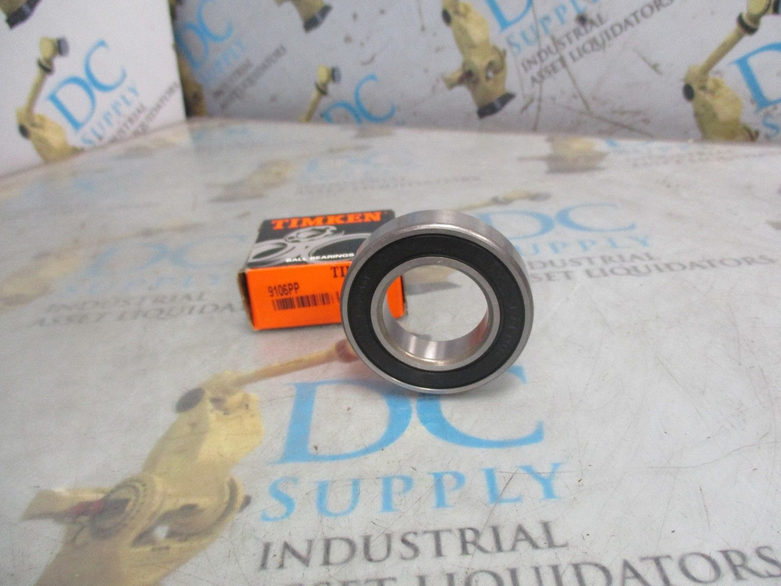 high temperature TIMKEN 9106PP DOUBLE SEAL ROLLER BALL BEARING NIB
