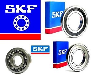 high temperature 6200 SERIES GENUINE SKF DEEP GROOVE BALL BEARING – 2RS ZZ OPEN C3 CHOOSE SIZE