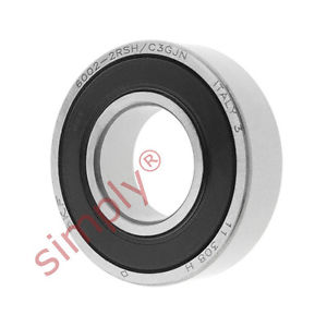 high temperature SKF 60022RSHC3GJN Sealed High Temp Deep Groove Ball Bearing 15x32x9mm