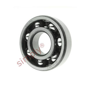 high temperature SKF 6305ETN9 Open Deep Groove Ball Bearing with Fibre Cage 25x62x17mm