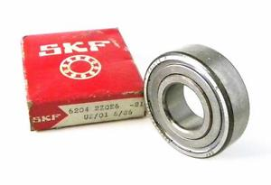 high temperature  SKF 6204-2ZQE6 SHIELDED BALL BEARING 20 MM X 47 MM X 14 MM (2 AVAILABLE)