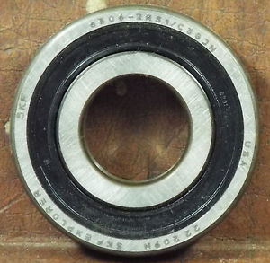 high temperature 1  SKF 6306-2RS1/C3GJN DEEP GROOVE BALL BEARING ***MAKE OFFER***