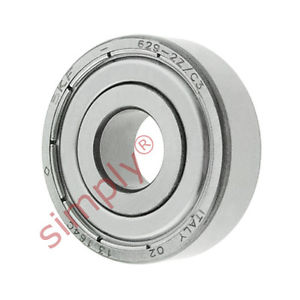 high temperature SKF 6292ZC3 Metal Shielded Deep Groove Ball Bearing 9x26x8mm