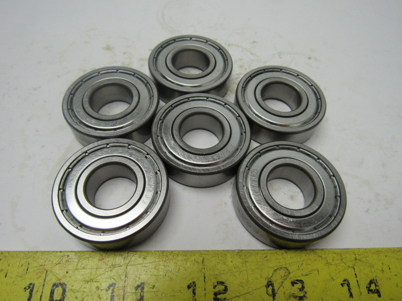 high temperature NTN 6203C3ZZ Single Row Radial Ball Bearing 17x40x12mm Lot of 6 New/No Box