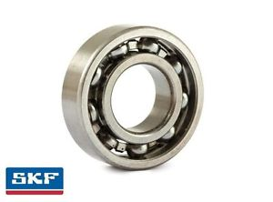 high temperature 6206 30x62x16mm Open Unshielded SKF Radial Deep Groove Ball Bearing