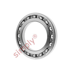 high temperature SKF 16010 Open Deep Groove Ball Bearing 50x80x10mm