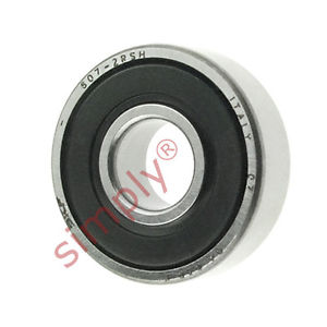 high temperature SKF 6072RSH Rubber Sealed Deep Groove Ball Bearing 7x19x6mm