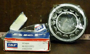 high temperature 1  SKF NU 312 ECP/C3 BALL ROLLER BEARINGS ***MAKE OFFER***