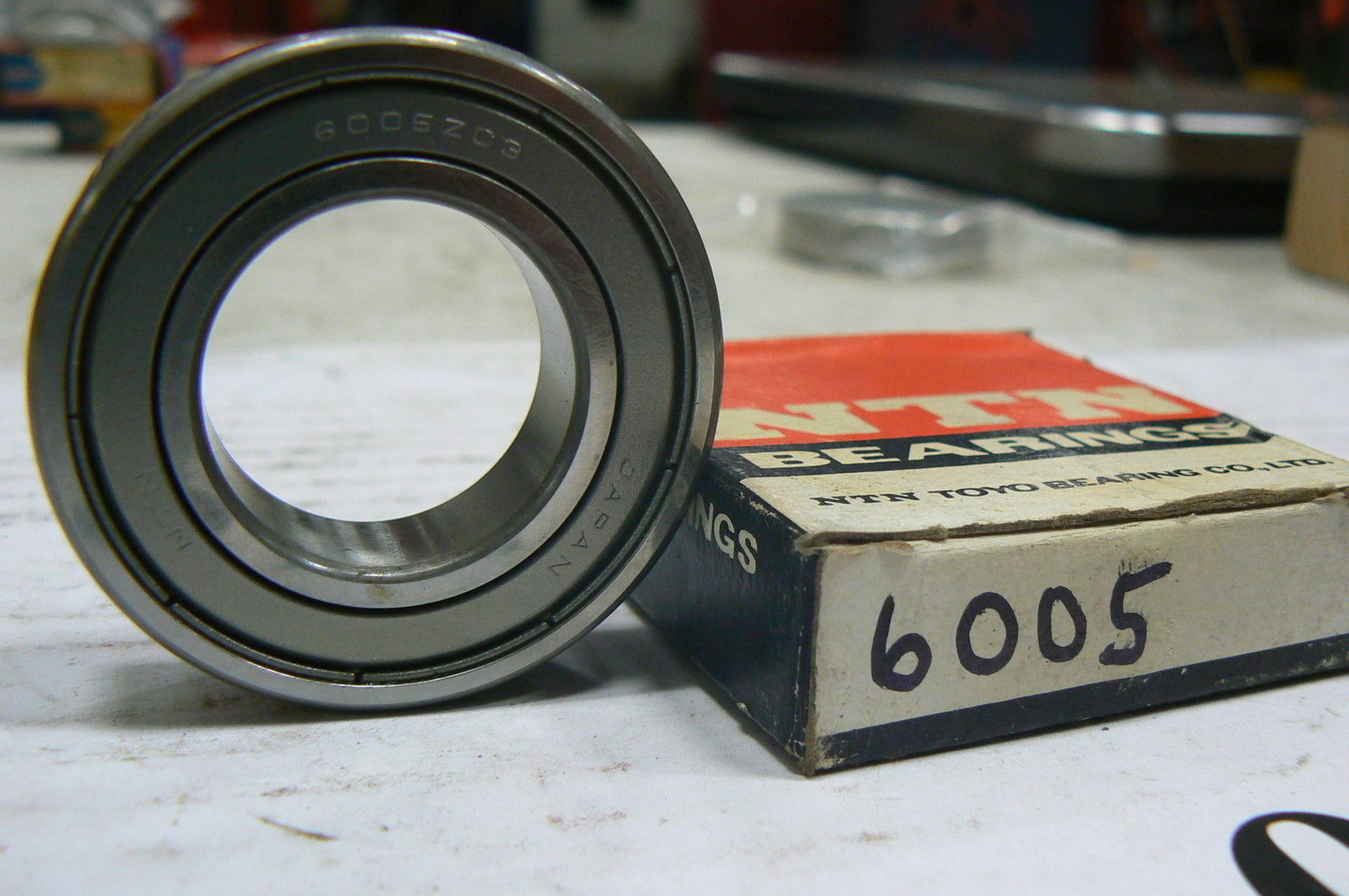 high temperature NTN 6005Z / C3 SINGLE ROW DEEP GROOVE BALL BEARING