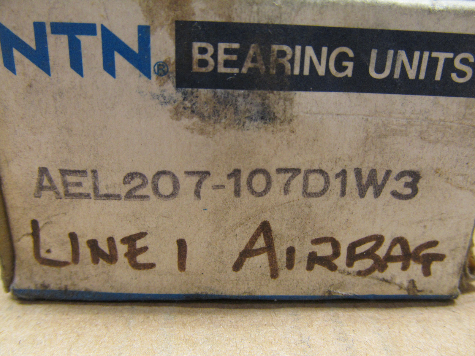 high temperature 1 NIB NTN AEL207-107D1W3 ROLLER BALL BEARING