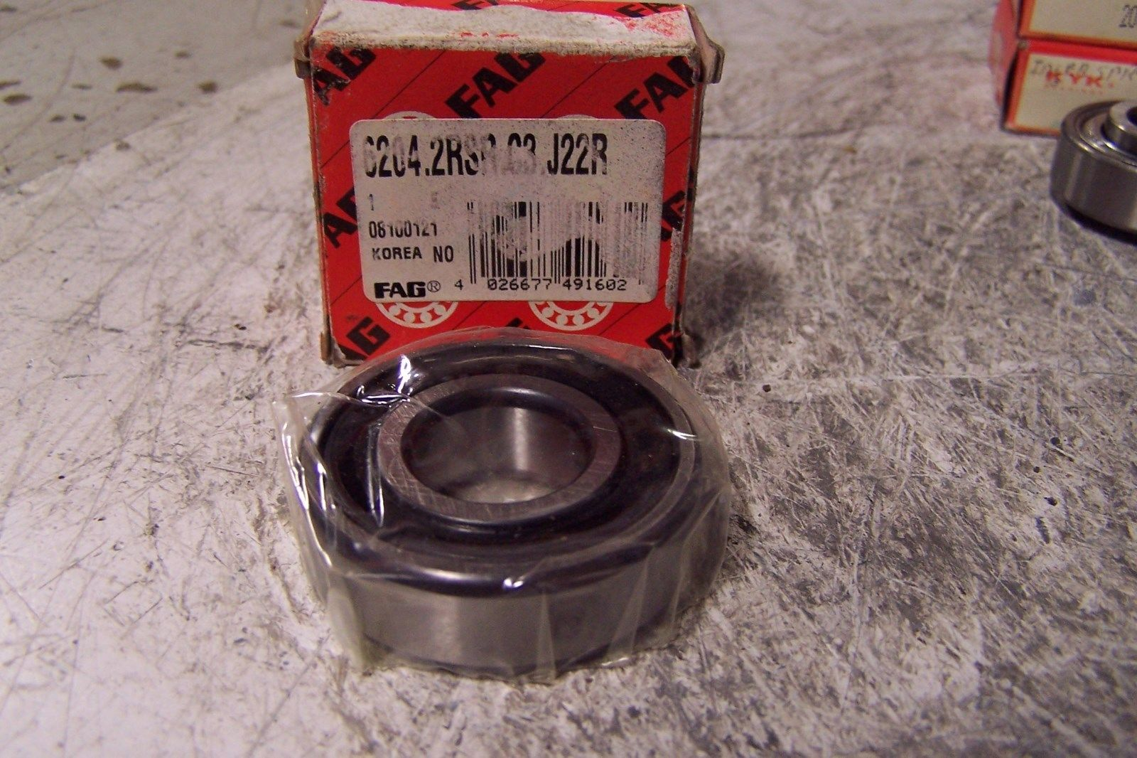 high temperature (10)  FAG KYK SINGLE ROW BALL BEARINGS 62052RS 62062RSRC3 203KRR2SRI2