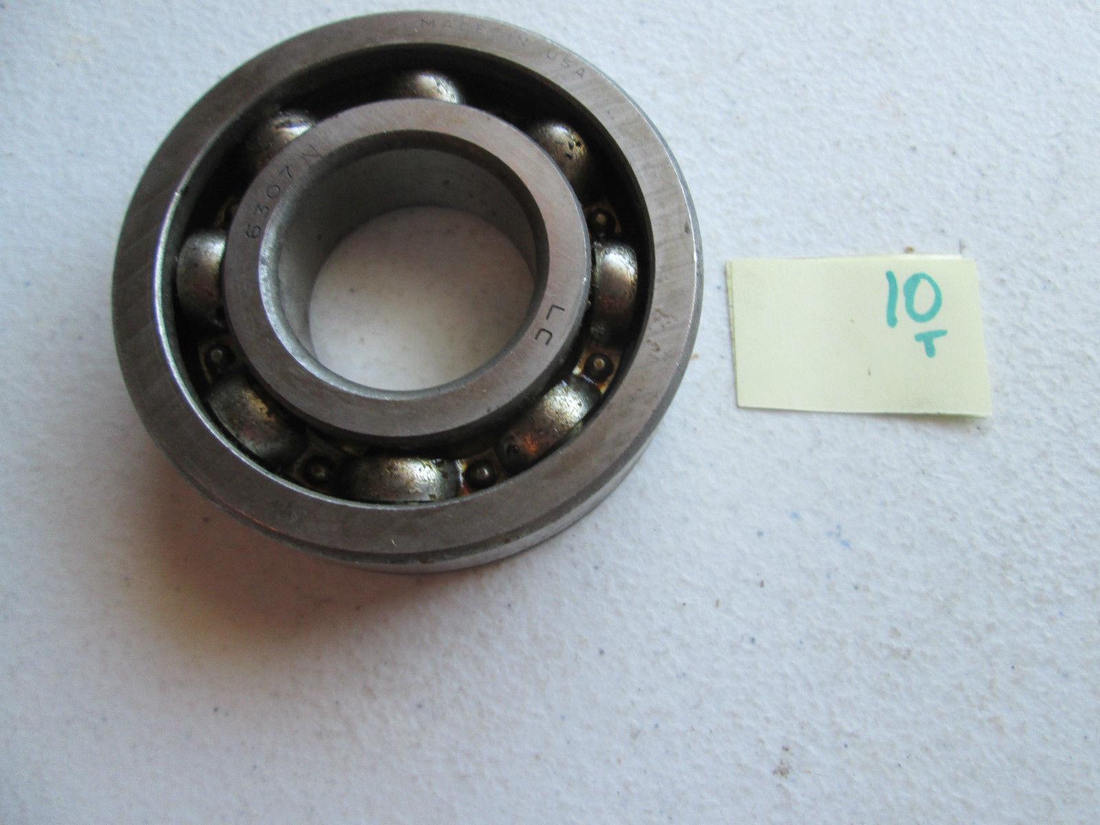 high temperature  IN BOX FAG SINGLE ROW BALL BEARING 6307.NR 6307NR 6307-NR  (276-1)