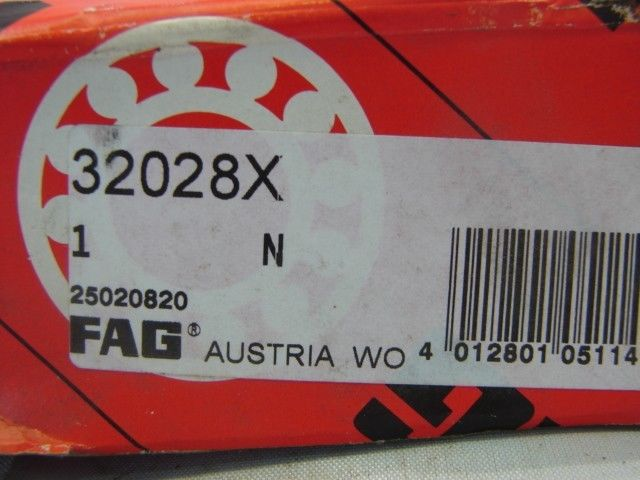 high temperature FAG 32028X TAPERED ROLLER/BALL BEARING ****NIB****