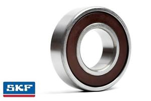 high temperature 61802 6802 2RS 15x24x5mm SKF Thin Section Sealed Deep Groove Ball Bearing