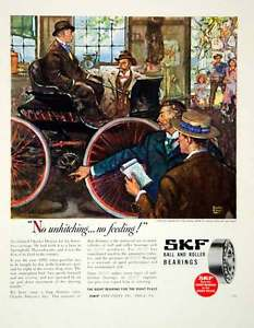 high temperature 1946 Ad SKF Ball Roller Bearings Car Philadelphia Automobile Vehicle Store FTM1