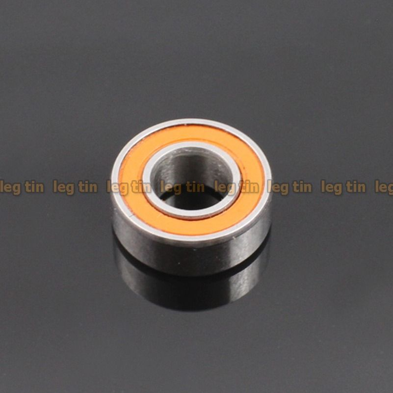 high temperature [4 pcs] SMR105c 5x10x4 mm Hybrid Stainless Steel Ceramic Ball Bearing (ABEC 7)