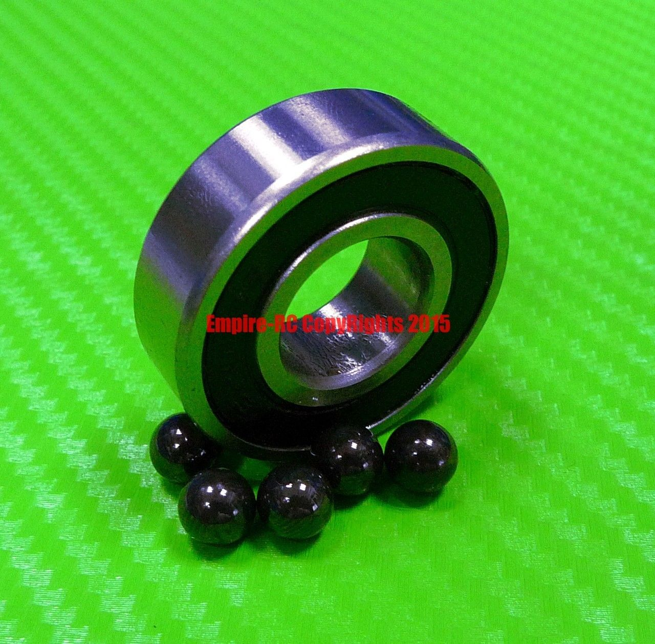 high temperature [QTY 10] (6x15x5 mm) S696-2RS Stainless HYBRID CERAMIC Ball Bearing Bearings BLK