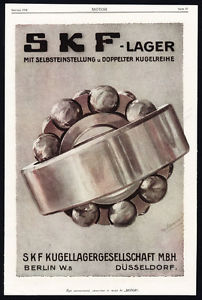 high temperature Antique Print-ADVERTISING-SKF-BALL BEARINGS-SCHEU-MACHINE-INDUSTRY-GERMANY-1917