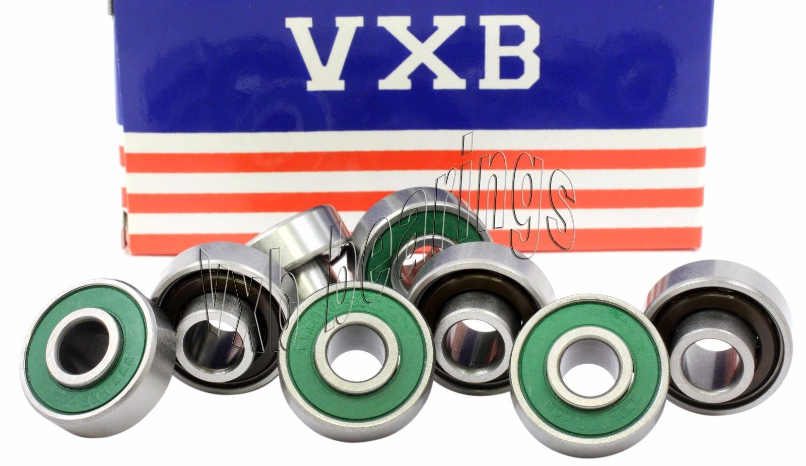 high temperature 8 Skateboard Extended Ceramic Bearing with Built-in Spacers Bearings 8786