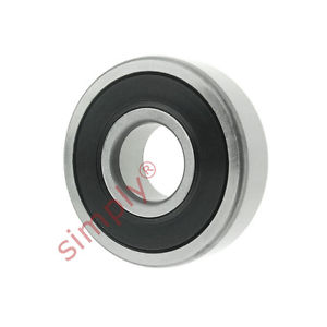 high temperature SKF 619052RZ Thin Deep Groove Ball Bearing 2 Low Friction Seals 25x42x9mm
