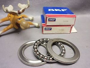 high temperature SKF Bearing 51108 Thrust Ball Bearing Single Direction Lot of 2