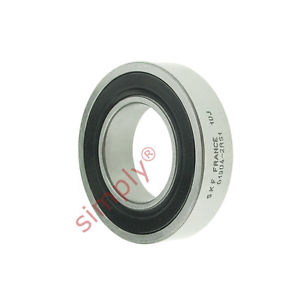 high temperature SKF 69042RS1 Rubber Sealed Thin Section Deep Groove Ball Bearing 20x37x9mm