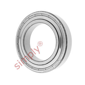 high temperature SKF 60112ZC3 Metal Shielded Deep Groove Ball Bearing 55x90x18mm