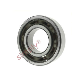 high temperature SKF 6206ETN9 Open Deep Groove Ball Bearing with Fibre Cage 30x62x16mm