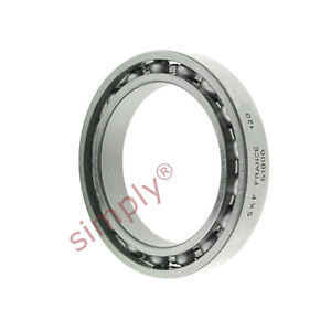 high temperature SKF 6806 Open Type Thin Section Deep Groove Ball Bearing 30x42x7mm
