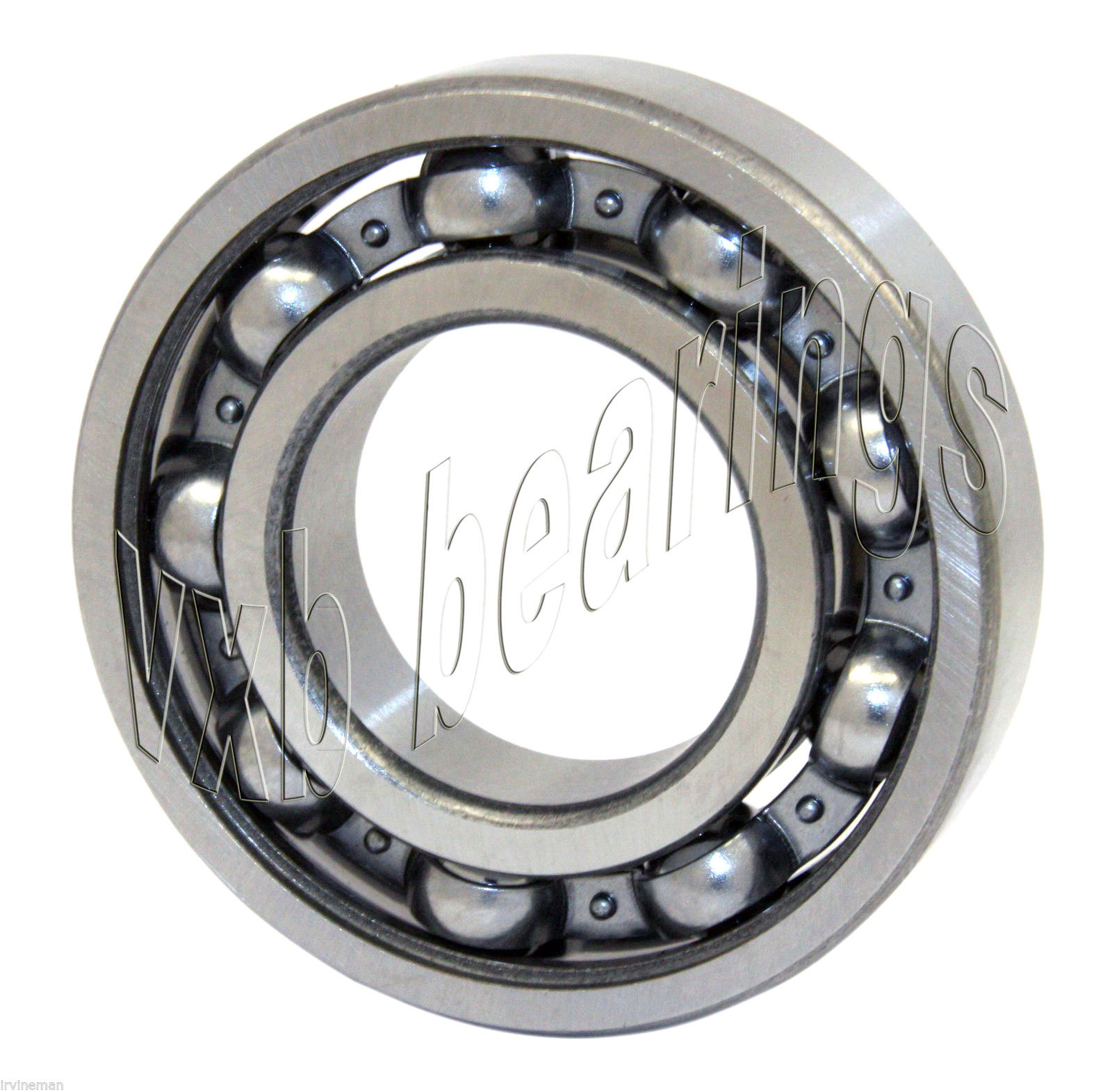high temperature S6206 Bearing 30x62x16 Si3N4 Ceramic Stainless Steel Open Nylon Premium 13022