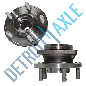 high temperature 2  PAIR Front (Left & Right) Set Chrysler Dodge Wheel Hub and Bearing ABS
