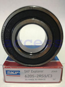 high temperature 6205-2RS C3 1 PC SKF FRANCE PRECISION BEARING  IN BOX SHIPS FROM THE U.S.A.