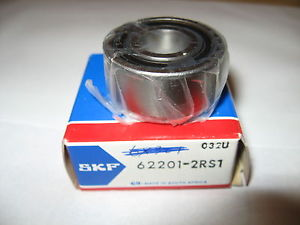 high temperature SKF 62201-2RS1 Single Row Ball Bearing Rubber Sealed