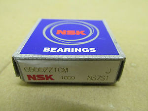 high temperature NIB NSK 6900ZZ1CM Bearing Metal Shield Both Sides 6900ZZ 6900 ZZ 1CM 10x22x6 mm