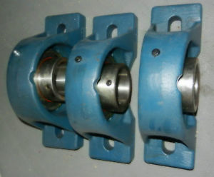 high temperature RHP pillow block bearing 2-3/16, MP7 body,  made in England