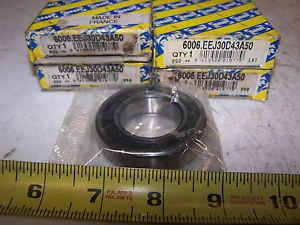 high temperature (4)  SNR 6006.EEJ30D43A50 55MM 30MM 1/2 IN BEARING LOT OF 4