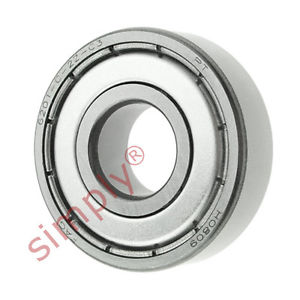high temperature FAG 62012ZC3 Metal Shielded Deep Groove Ball Bearing 12x32x10mm
