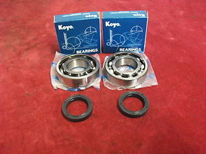 high temperature APRILIA RS125 CRANK BEARING & SEALS X2. KOYO C4 GRADE & R23 DOUBLE LIPPED SEALS